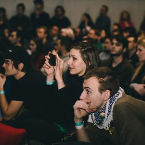 Publikum na PechaKucha Night