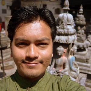 Sedmadvacetiletý student Kul Shanker Shrestha