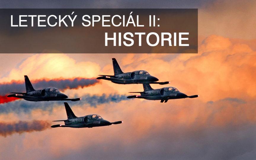 letecký speciál II - historie letectví